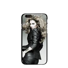 10037 Canada Popular Singer Celine Dion Hard transparent Cover cell phone Case for iPhone 4 4S 5 5S 5C 6 6S Plus 6SPlus