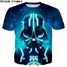 PLstar Cosmos 2017 summer New fashion Homme Hombre Cool t shirt 3D Print Star Wars Robot T-Shirt Men/Women Tees Hip hop Clothes