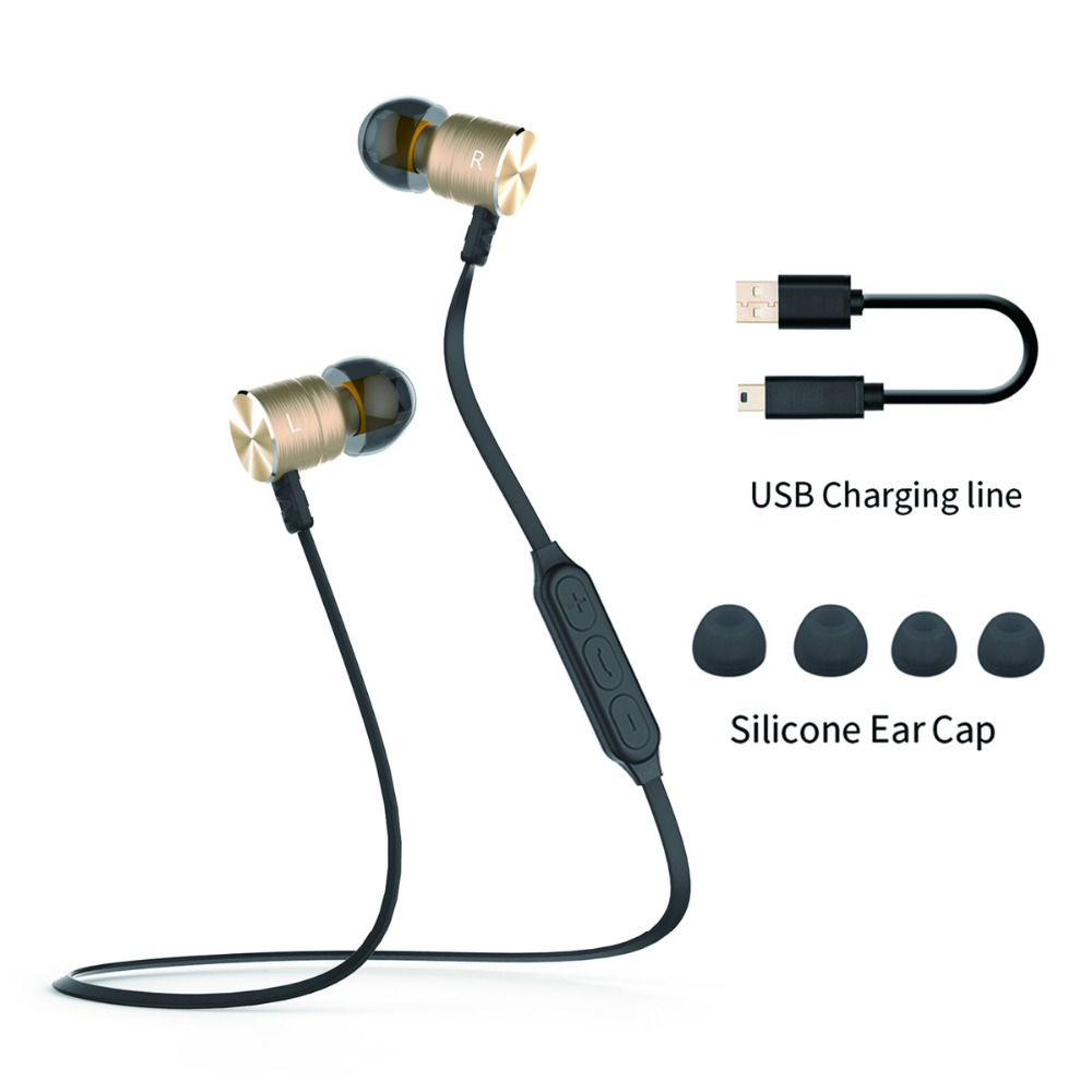 In Stock PLEXTONE BX325 Magnetic Wireless Earphone Sport Running Bluetooth with Mic Stereo earphone For all phone