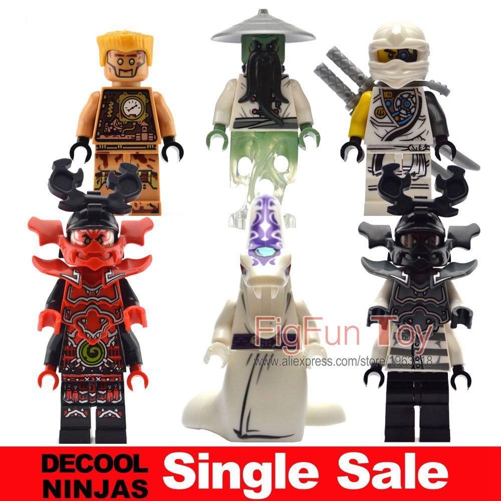 Single Sale Ninjago ZX Tournament Echo Zane General Kozu Skybound Giant Stone Warrior Minifigures Pathor Building Blocks Toys<br><br>Aliexpress