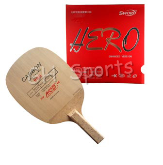 Pro Combo Table Tennis Racket Yinhe 988 with Sword Hero<br>