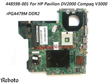 Superior Quality Motherboard For HP Pavilion DV2000 Compaq V3000 Motherboard DDR2 100% Fully Tested