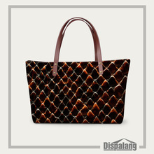 Designer Women Handbags Cool Shoulder Bags Snake Skin Serpentine Printing Ladies Casual Tote Large Beach Summer Bags Bolsas