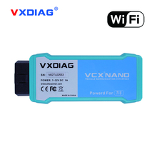 Original VXDIAG VCX NANO for TOYOTA TIS Techstream V12.00.127 Compatible with SAE J2534 Better for Toyota It3 WiFi Version(China)