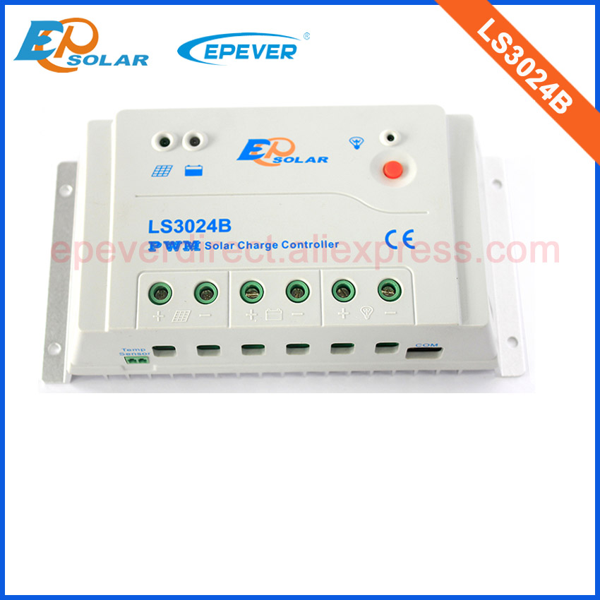 12v/24v Auto work PWM EPEVER 30A LS3024B Solar Panel controller Charger Regulator 30amp new EPSolar/EPEVER<br>