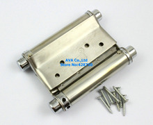 "2 Pieces 3"" Double Action Spring Hinge Saloon Cafe Door Hinge Swing Western Door"