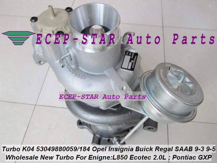 K04 53049880059 53049880184 Opel GT Insignia Pontiac Solstice GXP SAAB 9-3 9-5 L850 (3)