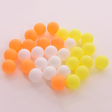 10PCS 38MM Ping Pong Ball Beer Pong Table Tennis Dip Game Lottery Washable