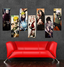 2016 New High Quality Large Size Japanese Anime Canvas Painting On Canvas Carton Naruto Wallpaper Cuadros Decoracion Unframed