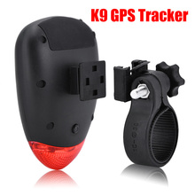 2017 New K9 GPS Tracker Locator Vibration Bicycle Alarm tracking system anti-theft GPS tracker car bicycle kit alarm system(China)
