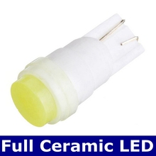 1Pcs High Quality T10 194 168 501 2825 W5W Ceramic High Power SMD COB LED Car Side Wedge Dome Lights Auto Parking Bulb Lamps 12V