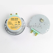 1 piece AC 21V Microwave Oven Synchronous Motor Tray Motor SSM-16HR for lg Microwave Oven Parts(China)
