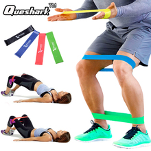 6 Levels Yoga Pilate Resistance Bands Gym Strength Power Training Fitness Band Elastic Rubber Resistance Loop Crossfit Equipment