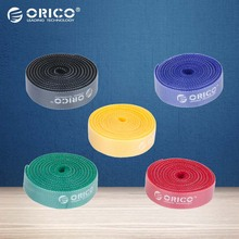 ORICO High-quality Plastic Nylon Cable Mark Colorful Ties Five Color 1M/pcs for Power Adapter-(CBT-5S)