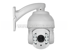 Mini HD 1080P IR High Speed dome IP Camera,2.0 mp CMOS Module 10X zoom Camera 6 pieces Arrays IR-LED>80M( SIP-S01H)