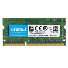 Original Crucial 4GB 8GB DDR3 1600MHz PC3-12800 1.35V CL11 204 Pin SODIMM Notebook Laptop Memory RAM CT51264BF160BJ for laptop(China)