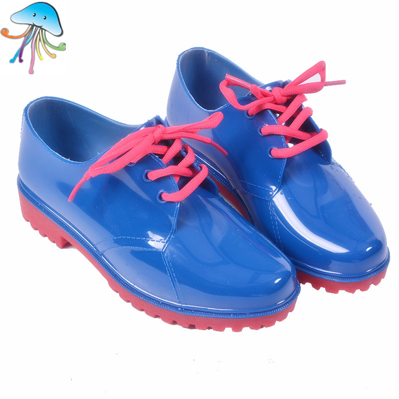 Ankle Waterproof Rainboots Summer Fashion Short State Ladies Lace Comfortable Rubber Rain Boots Classic Solid Colors Rainshoes<br><br>Aliexpress