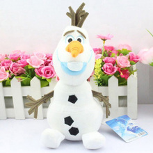 20cm 7.8inch Olaf Plush Toy Lovely Snowman White Plush Doll Cartoon Soft Toys Stuffed Doll Boy & Girls Christmas Gifts(China)