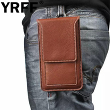 Multi-function Universal Mobile Phone Bag, New Outdoor Sports Hook Loop Belt Phone Pouch,Leather Wallet Holder Cover Case