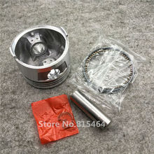 For CG150 CG175 Motorcycle Piston Kit CNC Accessories Motorbike Engine Parts Piston Pin+Motocross Piston Rings+Scooter Piston