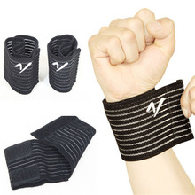 Bandage Bracer High Elasticity Wrist Support for Gym Sport Basketball/Tennis/Badminton Carpal Hand Protector Wrist Nylon Brace#(China)