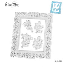 Metal Craft Dies Collection of Leaves  Metal Cutting Dies for Scrapbooking Diray Album Embossing Painting Metal Crsfts.