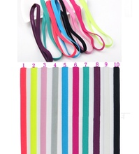 1 Pc Elastic Headband Softball Anti-slip Silicone Rubber Hair Head Bands Hairbands Headbands Accessories