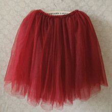 Girls TuTu Skirts 2017 Fluffy 3 Layer Of Gauze  Pettiskirts Baby Tutu Skirts Baby Girls Princess Dance Party Tulle Skirts