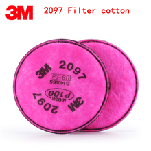 3M 2097 gas mask filter high quality respirator mask filter against Painting Spraying glass fiber PM2.5 industrial safety filter(China)