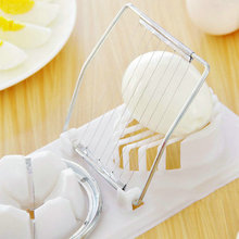 New Functional Practical Kitchen Supply Cut Egg Slicer Sectioner Petal Shape Cutter Mold 2 in 1