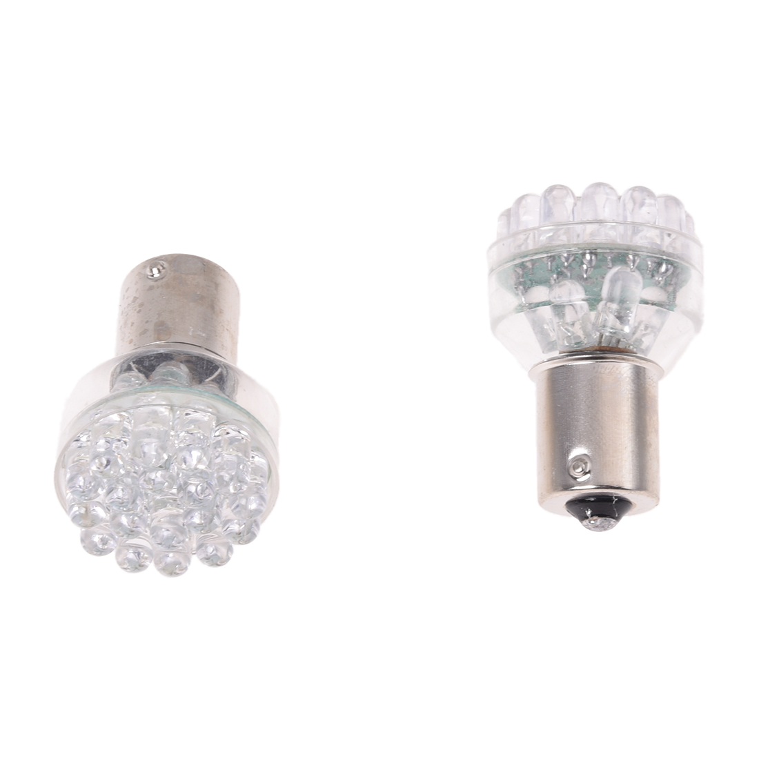 2 X 1156 24 LED Bulb Lamp Light Faro Flashing Signal Car White