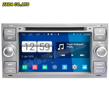 Newest 800*480 Quad Core 16G 6.2'' Pure Android 4.4.4 Stereo Radio Car DVD Player for Ford focus old/for mondeo GPS