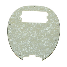 KAISH  Bass Pickguard MusicMan Stingray MM4 Scratch plate for Music Man MM2 4 String Guitar Parts  Aged Pearl