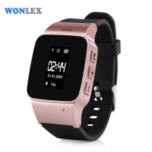 Wonlex High Quality Kids Elderly Watch Phone SOS LBS/WIFI Positioning Location GPS Tracker Watch