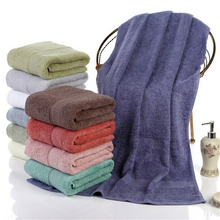 High Grade Adult Large Thickening Men/women Towel Couple Soft Comfortable Bath Towel Solid Color Hotel Grade Absorbent Towel