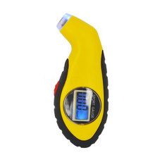 Kebidumei Digital LCD Car Tire Tyre Air Pressure Gauge Meter electronic Manometer Barometers Tester Tool(China)