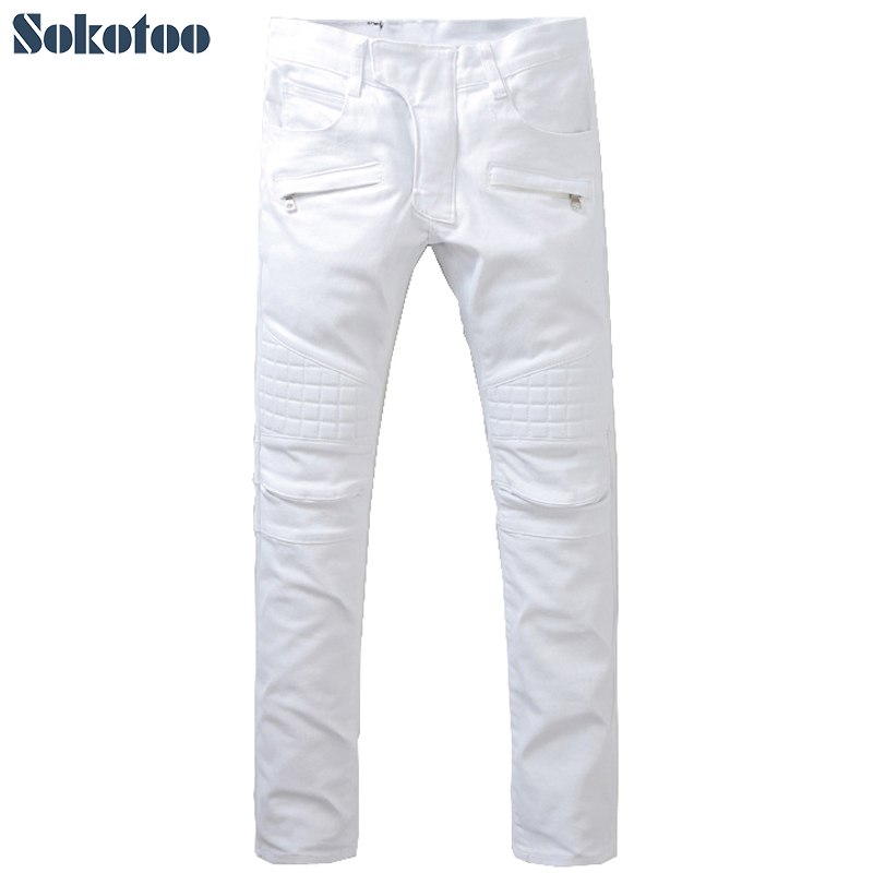 High Quality Wholesale white jeans mens from China white jeans ...