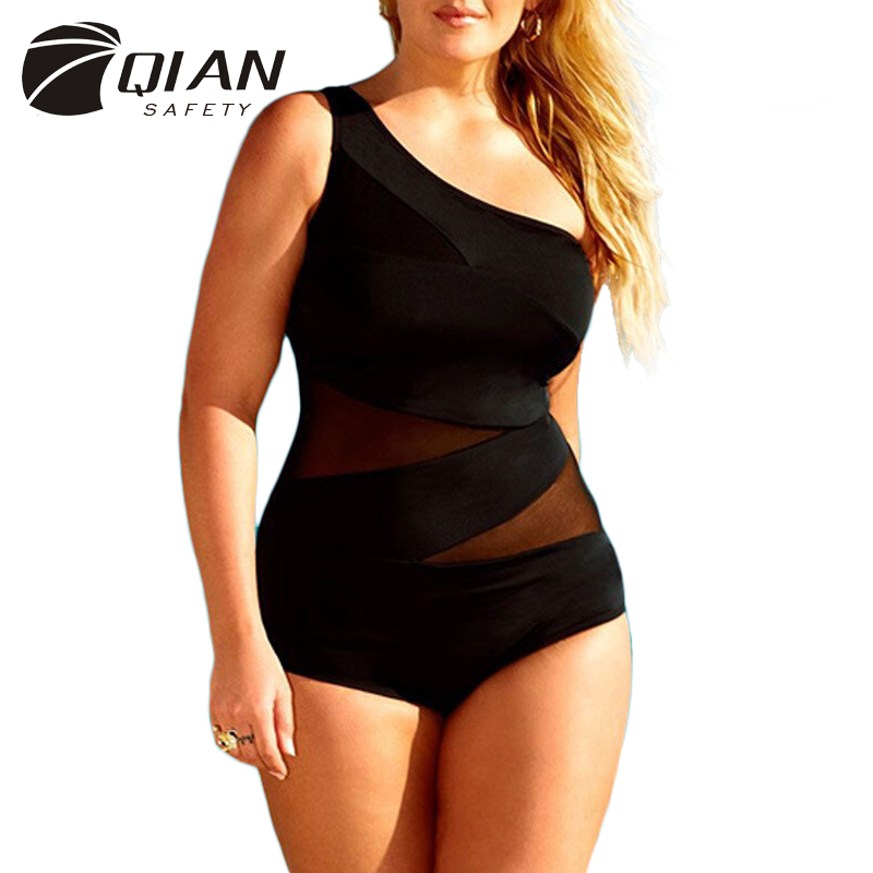 2017 New Bikini Large Size Swimwear Bodysuit Sexy Charming Swimsuit Spandex Material with Chest Pad and Wire Free<br><br>Aliexpress