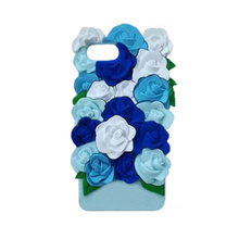 2017 Luxury 3D cartoon sexy girl love perfume simulation green leaves pink rose flower candy color soft silicone case For Iphone