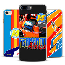 Buy Fernando Alonso Fashion Coque Mobile Phone Case Cover Shell Bags Apple iPhone 8 7 7s Plus 6S 6 Plus 5 5S SE 4S 4 for $2.97 in AliExpress store