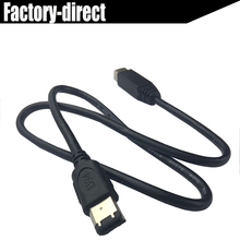 FireWire 9 pin to 6pin FireWire 800 to FireWire 400 9 Pin / 6 Pin IEEE 1394B Cable in Black Color(China)