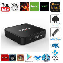 T95M TV Box Amlogic S905X 1G+8B Quad Core 64Bit Android 6.0 Smart 4K HD Media Player Built in 2.4G WiFi  HDMI Output Set Top Box