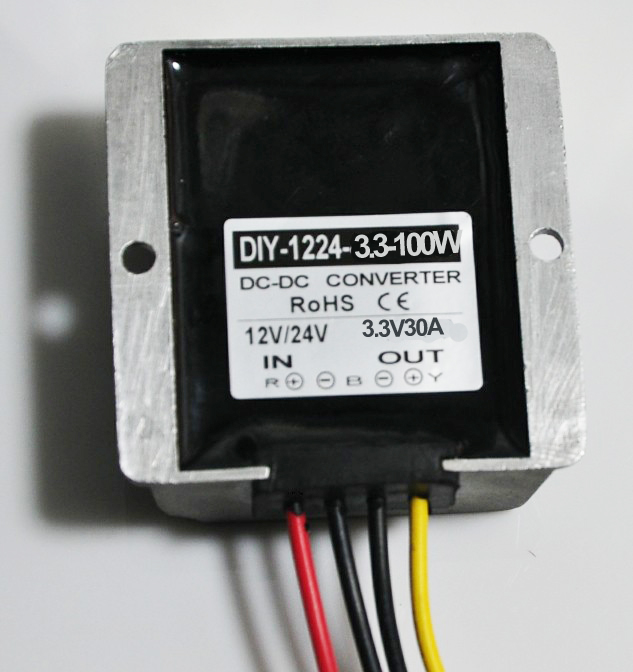 Converter DC 12V 24V 36V (6-40V)Step Down 3.3V 30A 100W DC DC Buck Module Car Power Supply Adapter Voltage Regulator Waterproof<br>