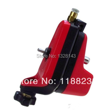 Pro Neuma Style New Rotary Tattoo Machine Gun tattoo machine for Shader & Liner Both Pneumatic Electric 1SET Red