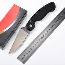 Hot selling C36 G10 handle CPM-S30V blade 58HRC folding knife outdoor camping survival tool gift Tactical knives(China)