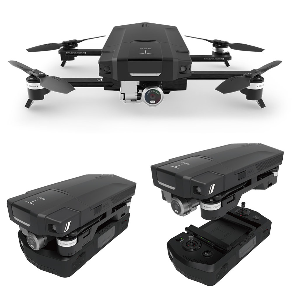Original GDU O2 Drones FPV Foldable Quadcopter with 4K HD Camera GPS & GLONASS Avoidance Sound Wave Positioning VS DJI Mavic Pro