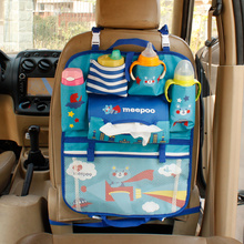 The Cartoon Cloth Baby Diaper Mummy Bag Thicker Car Seat Nappy Bag Children Car Hanging Bag Cute Waterproof Baby Stroller Bag