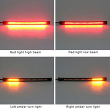 Universal flexible 32 LED Motorcycle Light Strip Tail Brake stop/turn sign Light(China)
