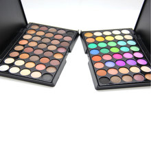 40 Colors Smoky Matte Eyeshadow Mixed Color Baking Powder Eye Shadow Palette Nude Glitter Cosmetic Set