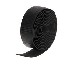 2Pcs  Cycling Cork Handlebar Tapes Road Sports Bike Bicycle Cork Handle Bar  Black& 2 Bar Plug Carbon Fiber Belt Strap